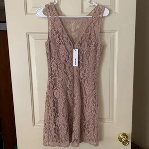 BB Dakota Nude Cocktail Dress